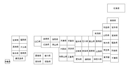 日本地図3
